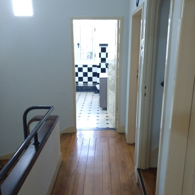 First floor hall