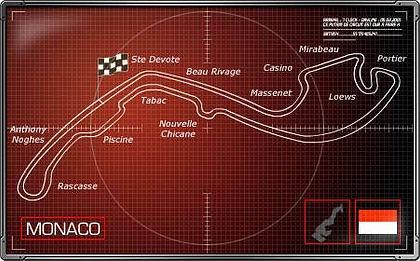 plan albatros circuit GP F1 Monaco 2017