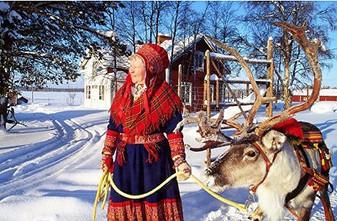Au pays du Père Noël...