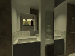 MEUBLE VASQUE - 3D PROJET