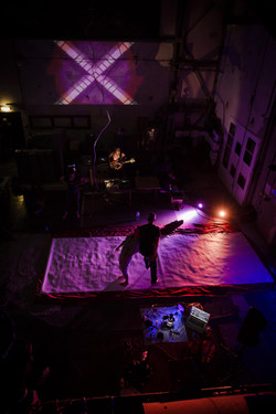 Interdisciplinary Performance (Sound, Visuals and Dance)