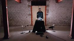 """Videoshoot to """"Music for sampler & lightbulbs"""" at M7173, Cologne"""