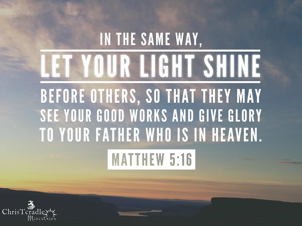 Matt 5:16