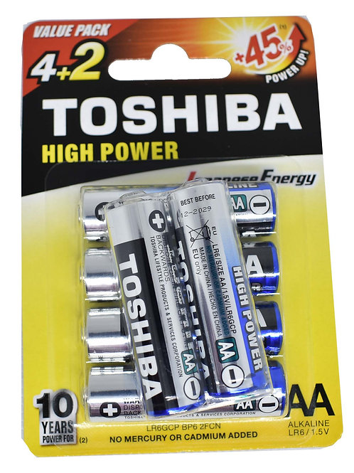 Toshiba AA 4+2