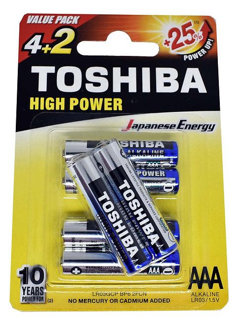 Toshiba AAA 4+2