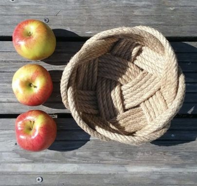 Handwoven bowls from the Lazarette