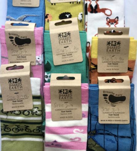 Bamboo socks from ZeroShop in Nottingham