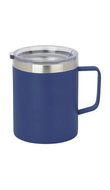 Blue Slim Coffee Mug w/ Lid
