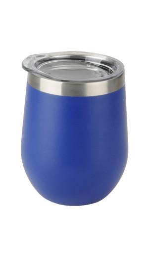 Blue Aster Wine Tumbler