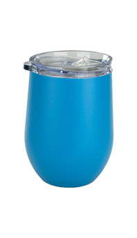 Hawaiian Blue Albany Wine Tumbler