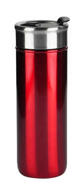 Red Flip Top Tumbler