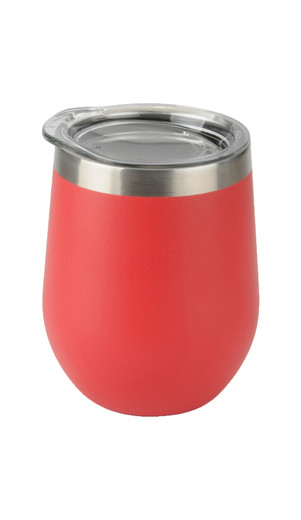 Red Aster Wine Tumbler