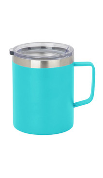 Aqua Slim Coffee Mug w/ Lid