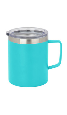 Aqua Slim Coffee Mug w/ Lid
