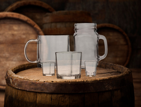 Traditional Bar Glassware