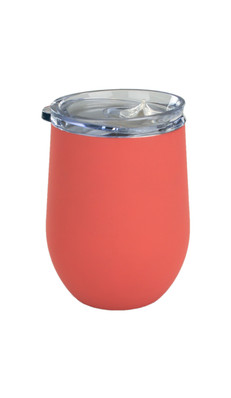 Coral Albany Wine Tumbler