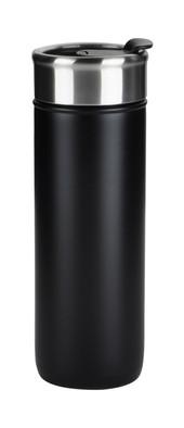 Black Flip Top Tumbler