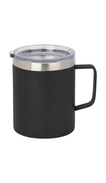 Black Slim Coffee Mug w/ Lid