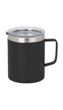 Black Slim Coffee Mug w/ Lid