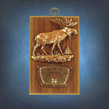 Hickory Finish Plaques