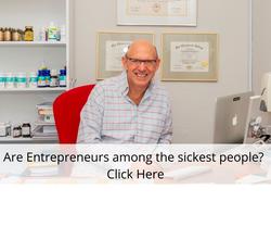 What Makes Entrepreneurs Sick?