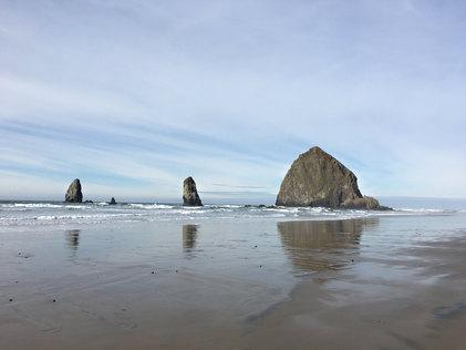 Haystack Rock & the Needles