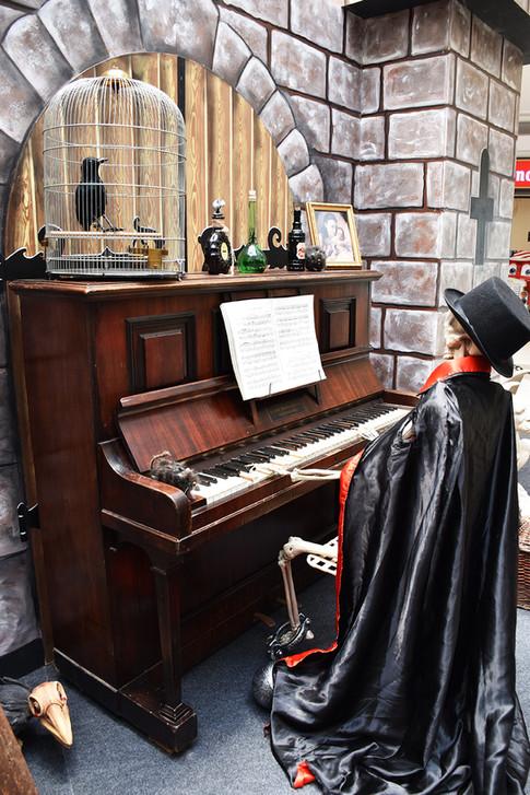 Squelette qui joue du Piano