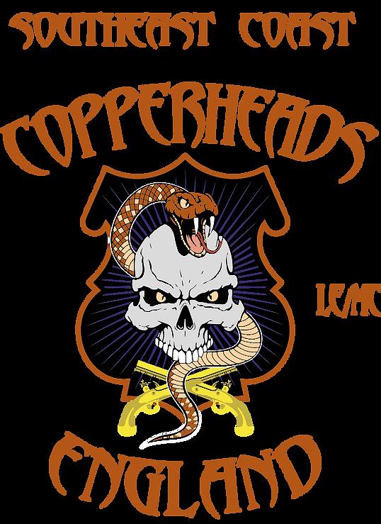 Copperheads black test England SE Coast
