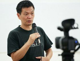 Zhang Xianmin (photo courtesy China Independent Film Festival)