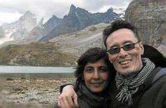 Filmmakers Ritu Sarin and Tenzing Sonam (photo courtesy of Friends of Tibet.org)