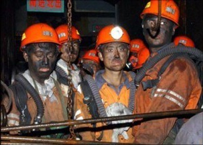 Coal Miners in China (Image: China Digital Times)