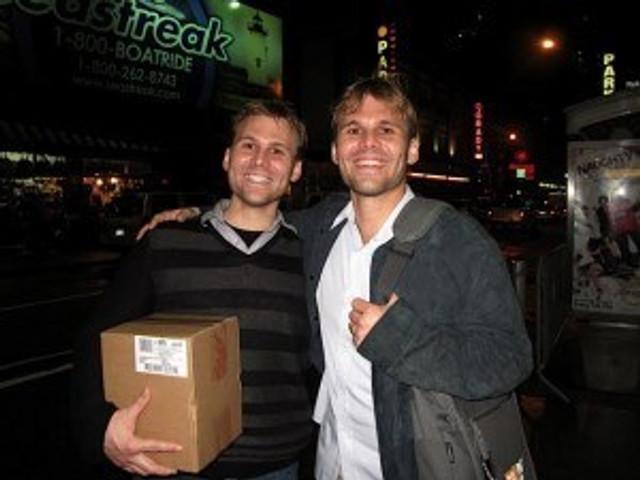 Bandurski brothers Jonathan and Ghost Town producer David