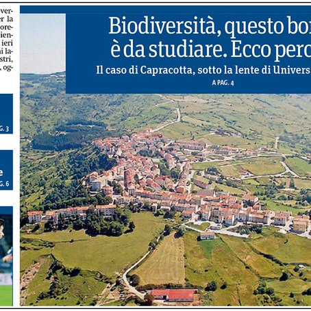 Biodiversità, Capracotta è un (bel) caso