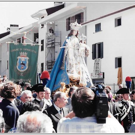 La festa della Madonna di Loreto a Capracotta