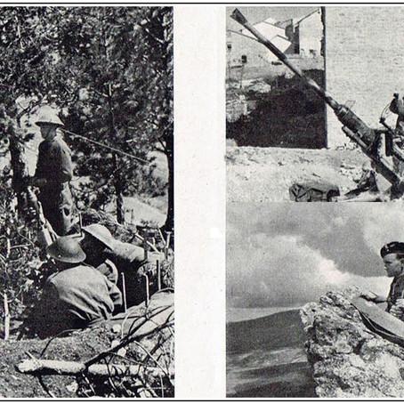 Tempi di guerra: l'incontro con i tedeschi a Capracotta