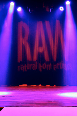 RAW stage at Terminal West/King Plow
