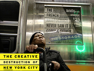 """Global Troubles - An excerpt from the book """"The Creative Destruction of New York City"""""""