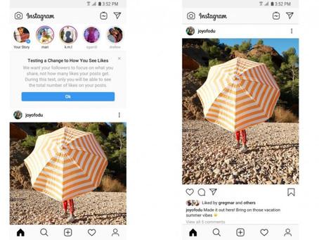 Instagram test verbergen van aantal likes in alle landen