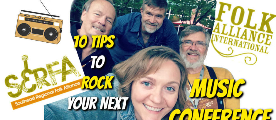 10 tips to rock your next music conference