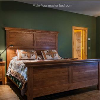 1. Tommy Jarrell Master Suite - $550 for 3 nights