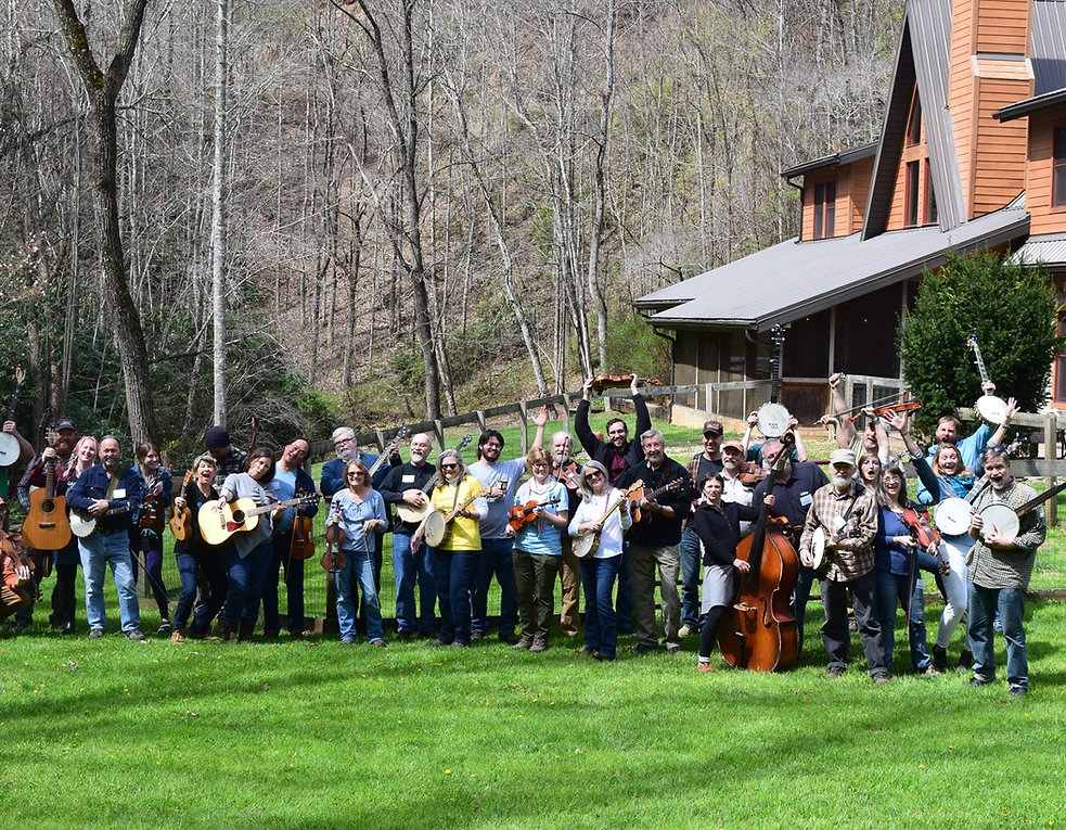 old time music retreat banjo fiddle frolic north carolina