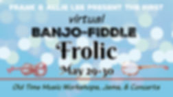 virtual banjo fiddle frolic event cover(