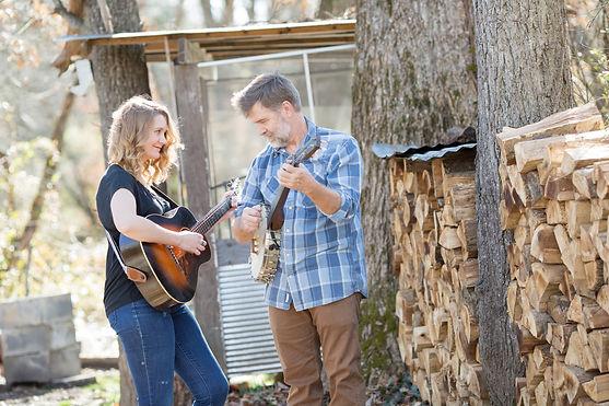 frank lee allie lee banjo fiddle frolic old time music retreat north carolina