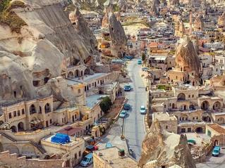 Mengenal Kota Goreme di Cappadocia