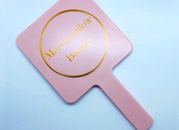 Marshmallow Hand Mirror