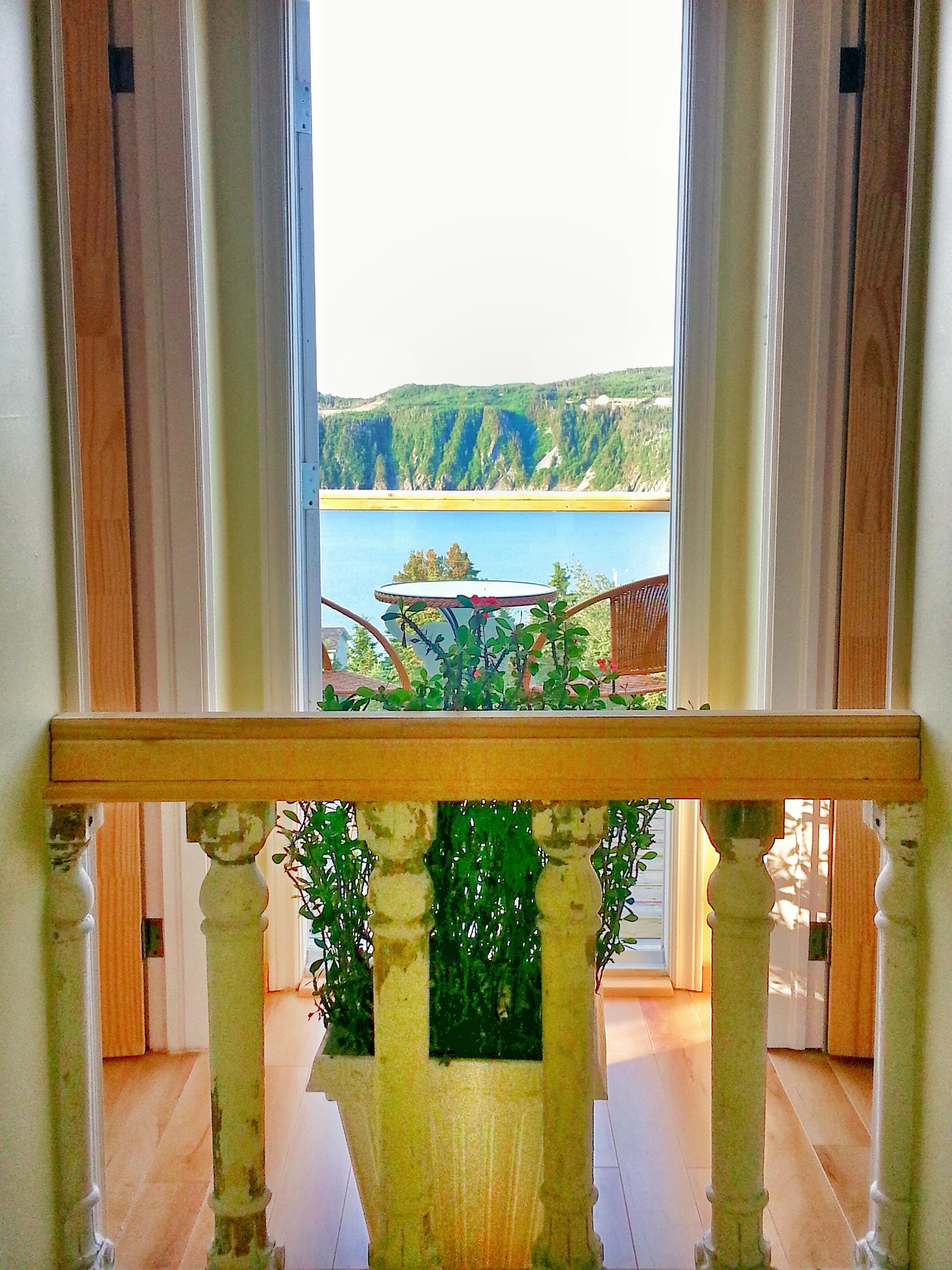 Inn on Capelin Bay Balcony Access