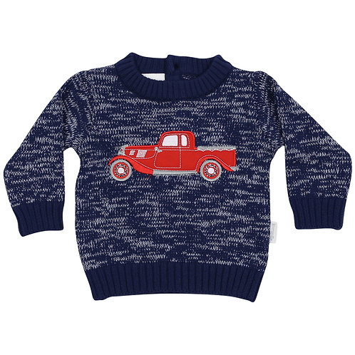 Boys Ute Knit Sweater