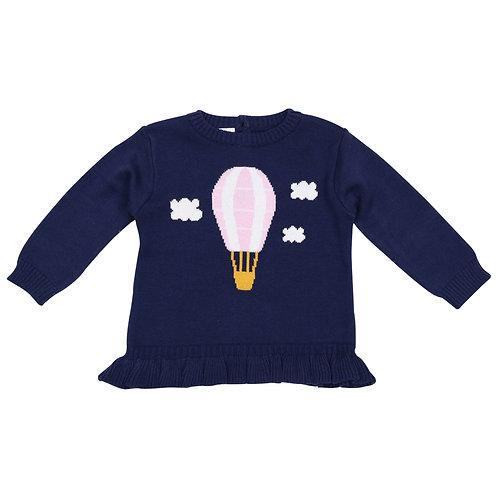 Korango Girls Hot Air Balloon Sweater