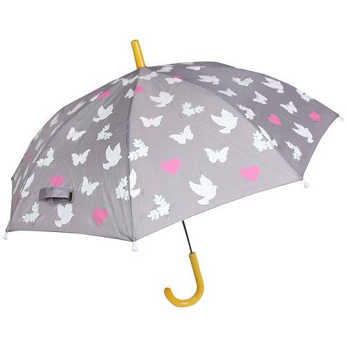 Birds n Butterflies Changing Colour Umbrella