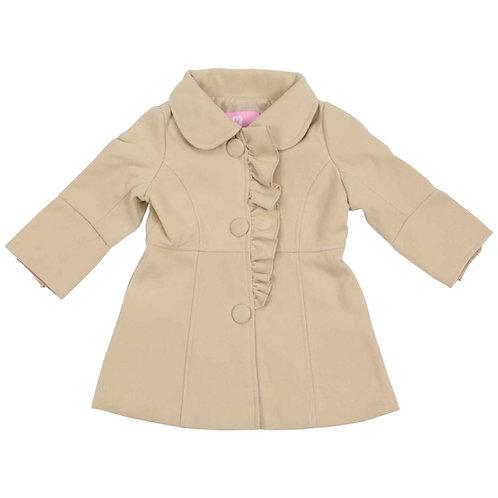 Korango Girls Clouds Beige Overcoat